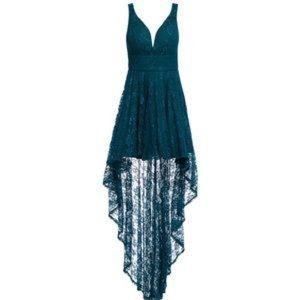 Venus lace high low dress size 4